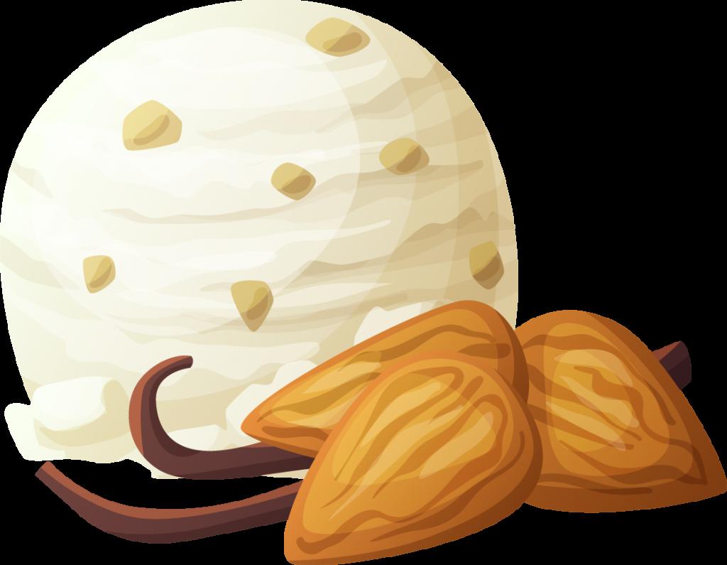 Vanilla & almond